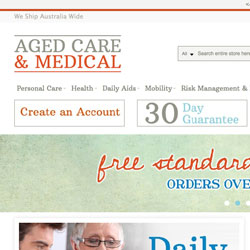 Aged Care and Medical Magento +Akeneo